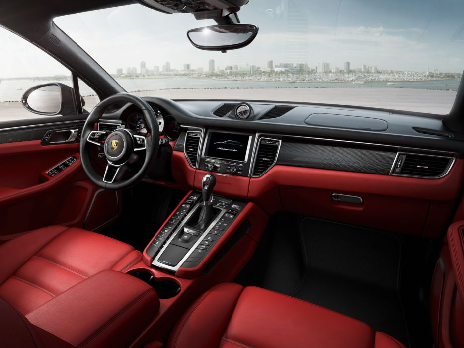 2014 Porsche Macan Turbo interior      h wallpaper