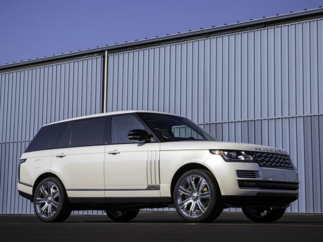 2014 Range Rover Autobiography Black LWB (L405) suv luxury g wallpaper
