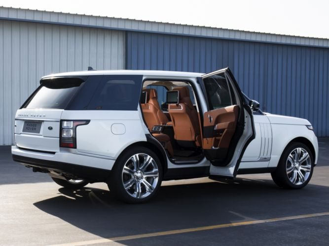 2014 Range Rover Autobiography Black LWB (L405) suv luxury interior y wallpaper