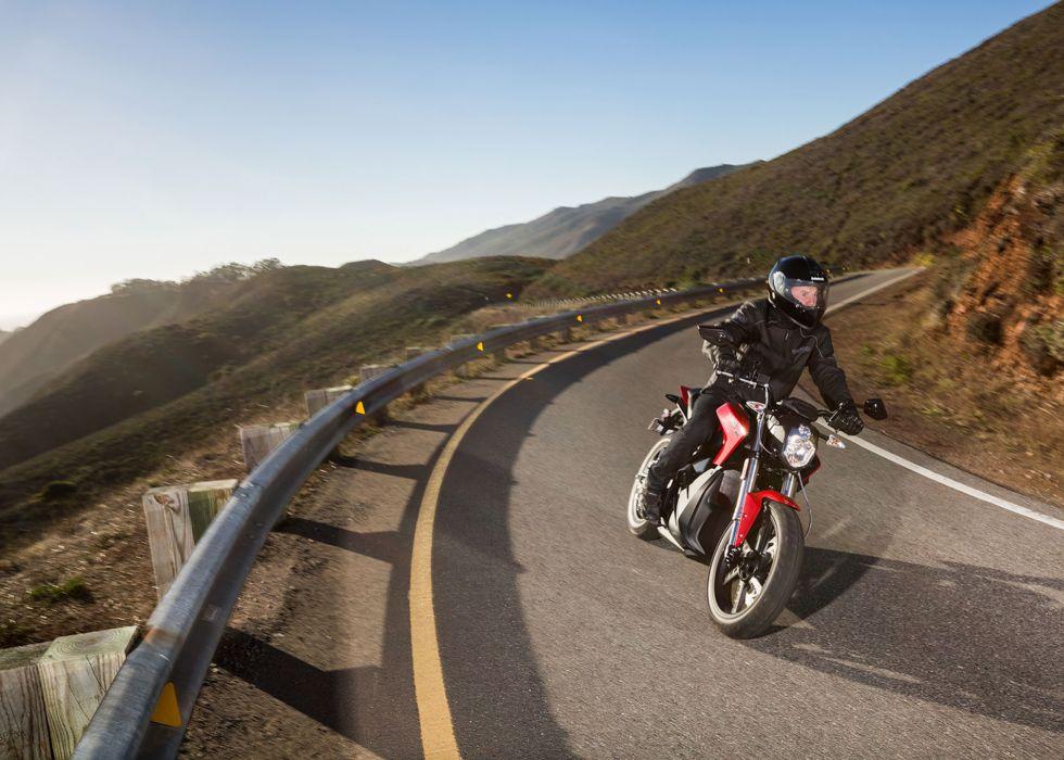 2014 Zero SR electric motorbike bike       f wallpaper