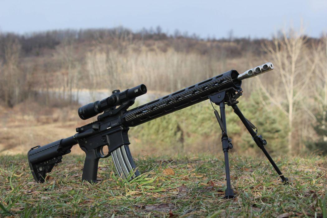 Built AR-15 sniper rifle sniper rifle optics bipod ...