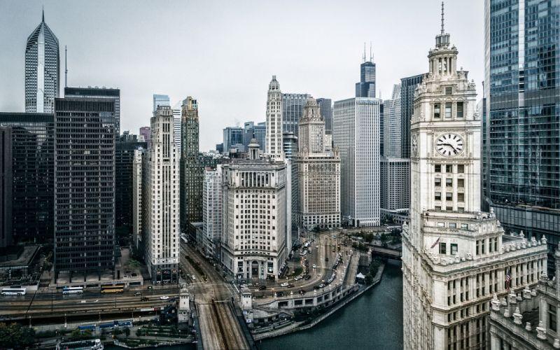 Chicago Buildings Skyscrapers wallpaper