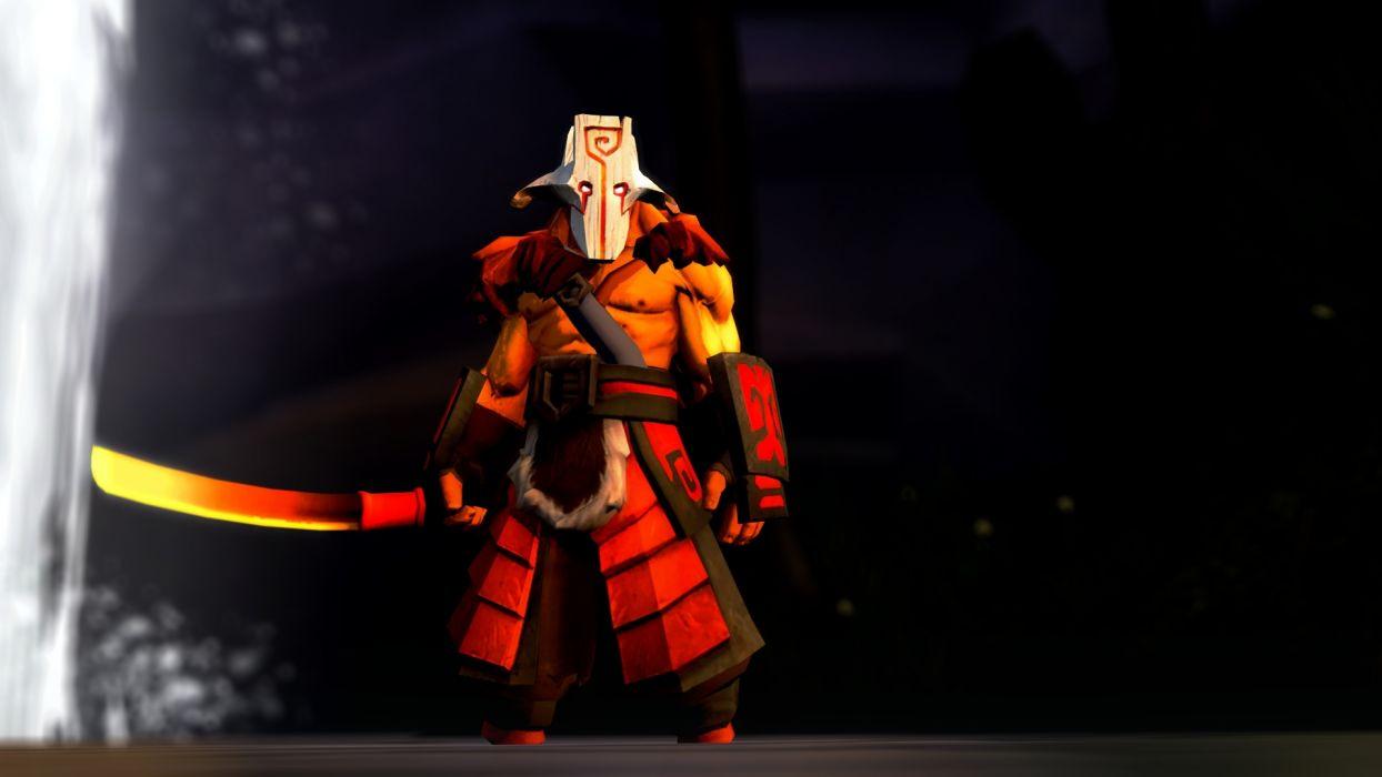 DOTA 2 Juggernaut Warrior Sabre Games fantasy    f wallpaper