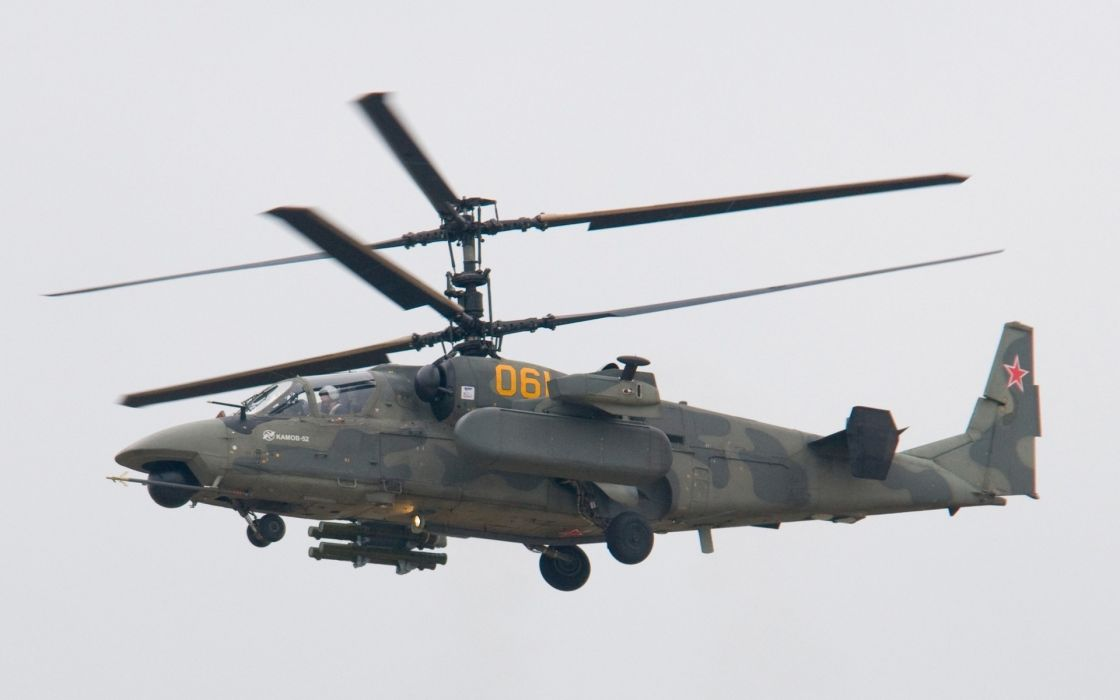 Ka-52 Alligator alligator helicopter military     g wallpaper