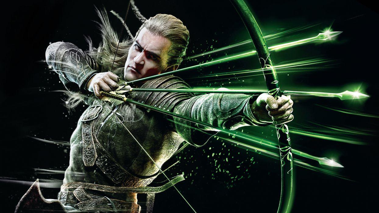 Lord of the Rings Archer Warrior Men Elves Games Fantasy wallpaper