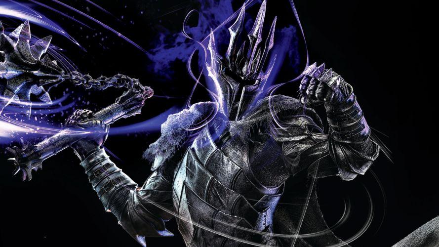 Lord of the Rings Warrior Sauron Armor Helmet Games Fantasy lotr f wallpaper