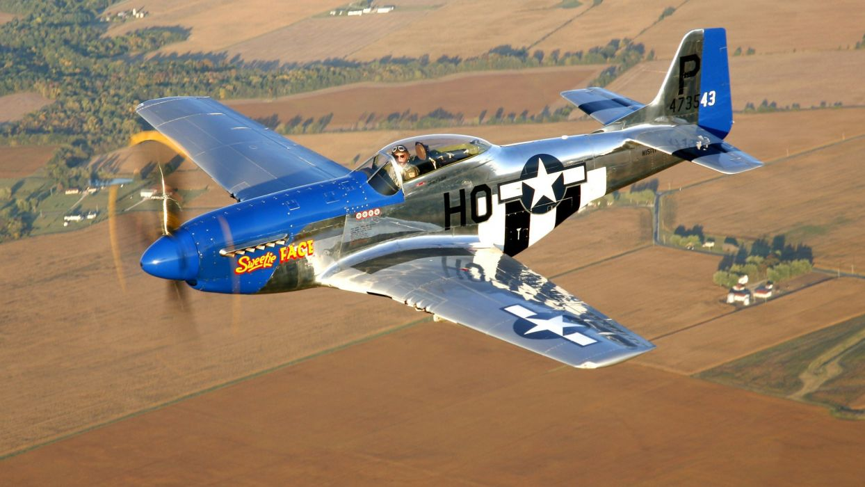 military historical club airplane north american p-51 mustang