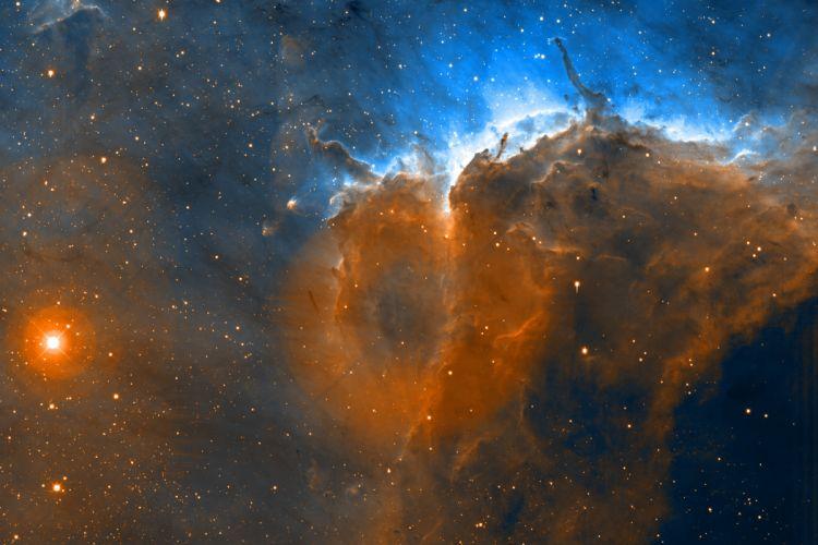 NGC 224 Nebula Andromeda stars f wallpaper