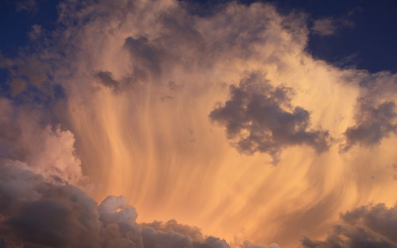 sky clouds light wallpaper