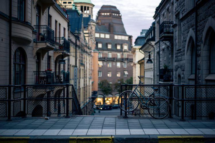 stockholm city bike wallpaper