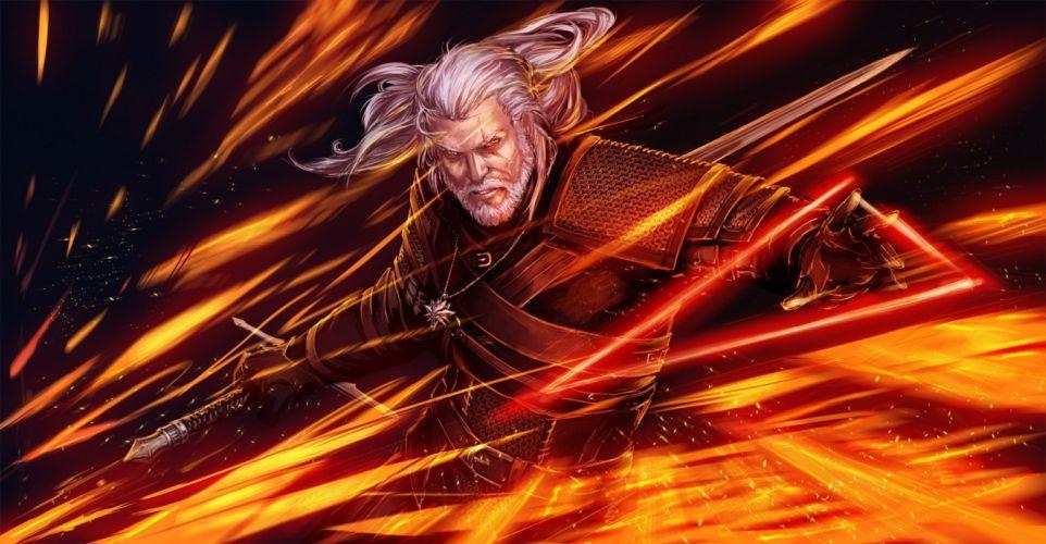 The Witcher 3 Wild Hunt Warrior Men Games Fantasy wallpaper