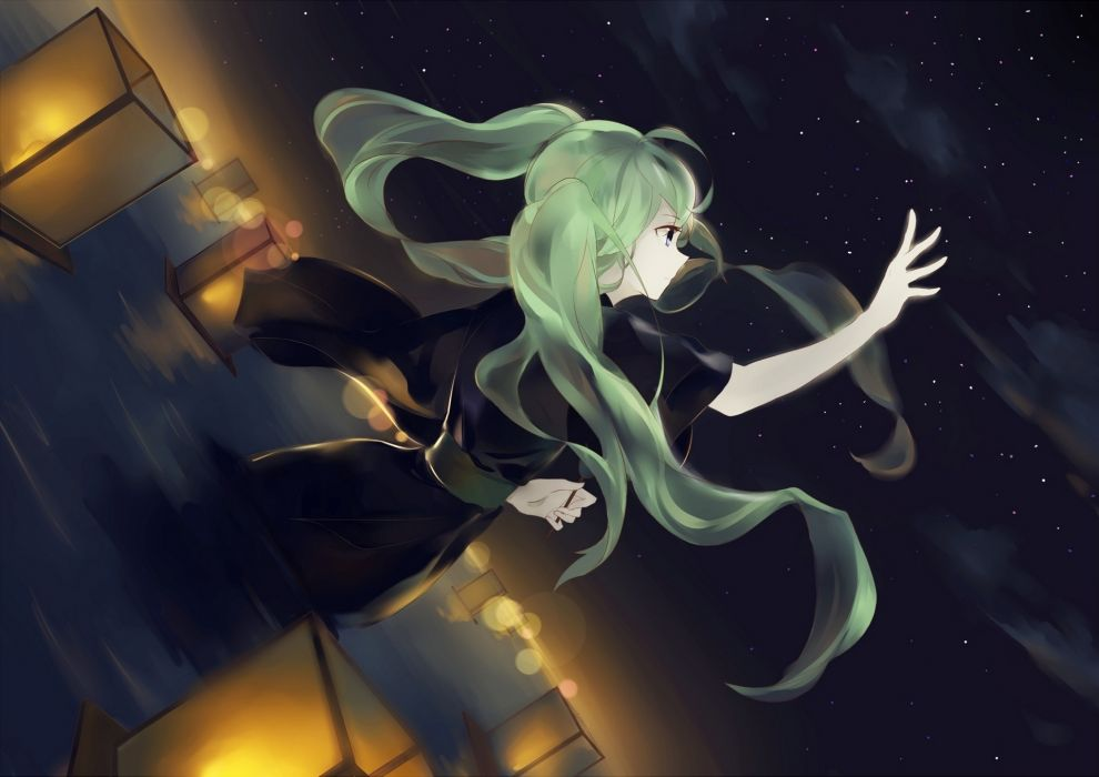 Vocaloid Hatsune Miku Anime Girls wallpaper