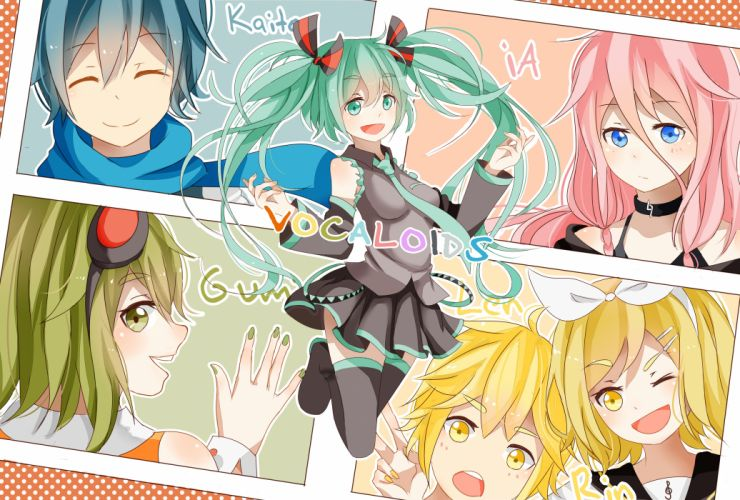 Vocaloid Hatsune Miku Luka Megurine Guys Anime Girls f wallpaper