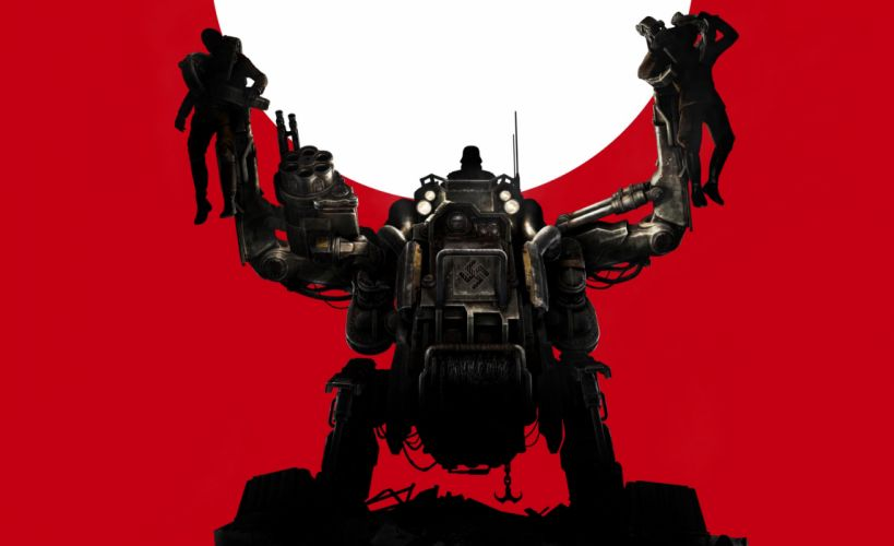 Wolfenstein The New Order mecha sci-fi robot wallpaper