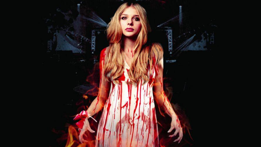 CARRIE horror dark blood f wallpaper