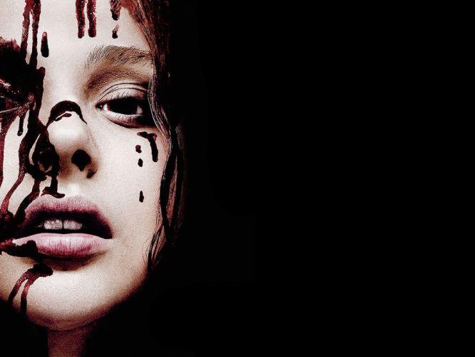 CARRIE horror dark blood d wallpaper