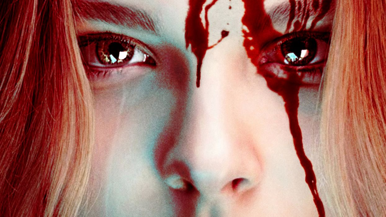 CARRIE horror dark blood  b wallpaper
