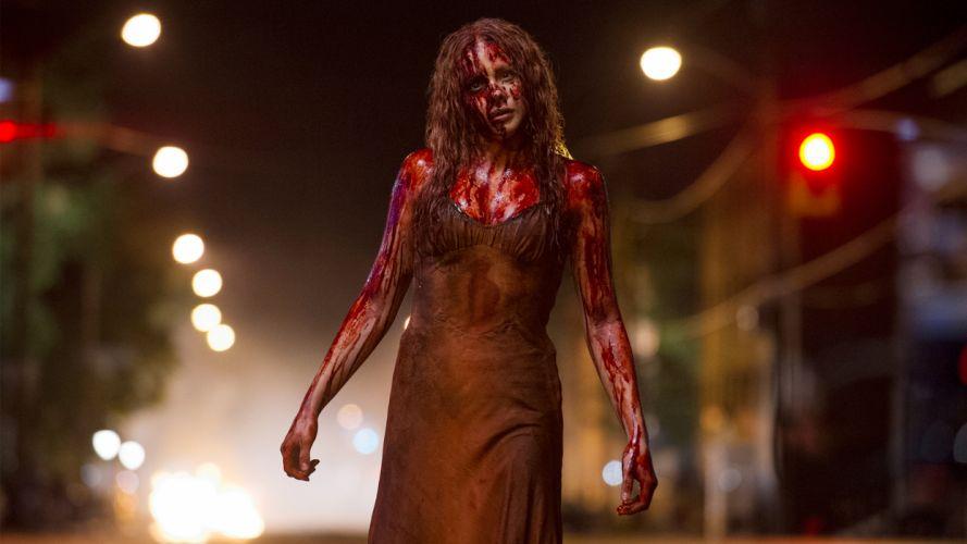 CARRIE horror dark blood g wallpaper
