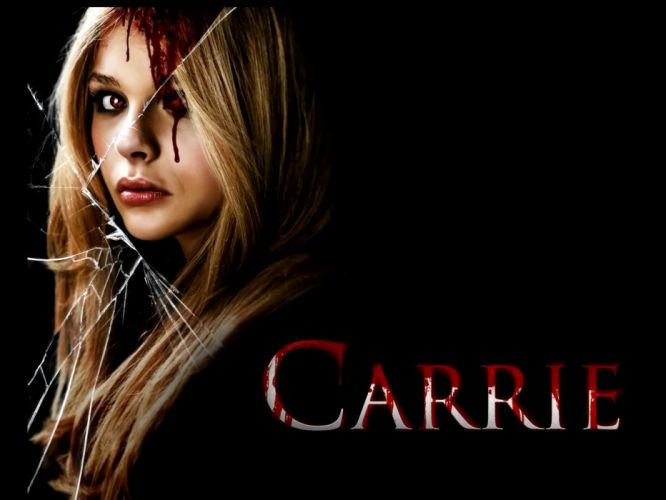 CARRIE horror dark blood poster g wallpaper
