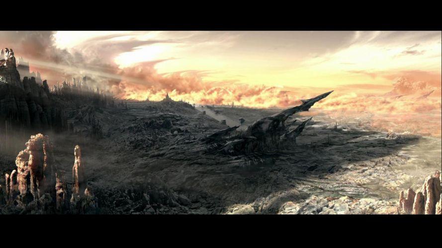 CHRONICLES OF RIDDICK sci-fi fantasy landscape alien f wallpaper