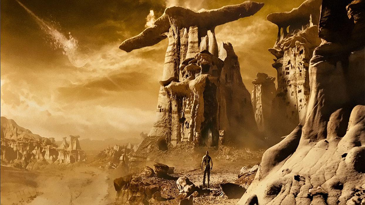 CHRONICLES OF RIDDICK sci-fi vin diesel warrior movie fantasy      h wallpaper