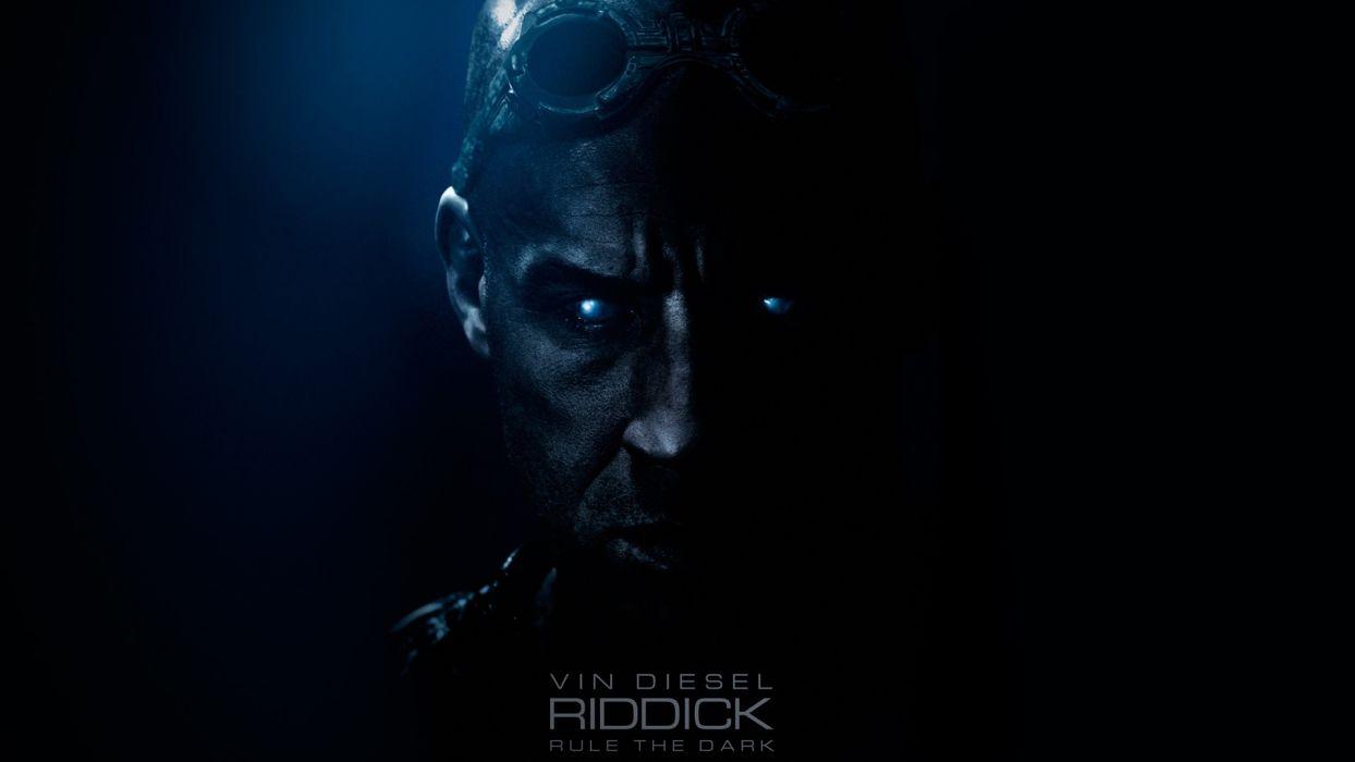 CHRONICLES OF RIDDICK sci-fi vin diesel warrior movie poster    f wallpaper