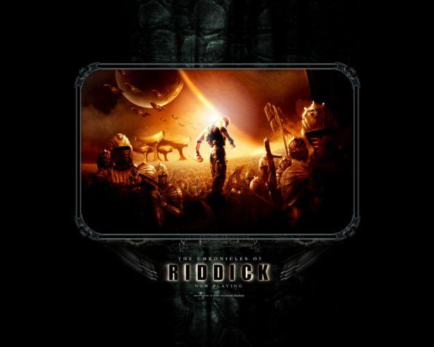 CHRONICLES OF RIDDICK sci-fi vin diesel warrior movie poster g wallpaper