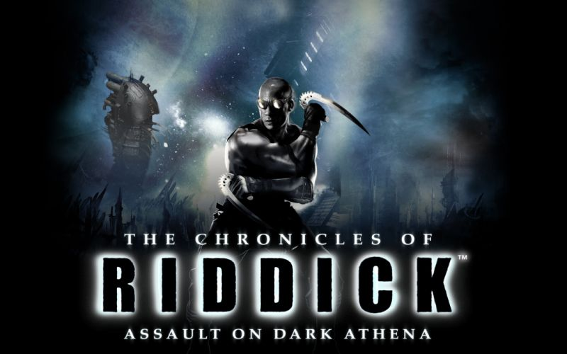 CHRONICLES OF RIDDICK sci-fi warrior games movie wallpaper