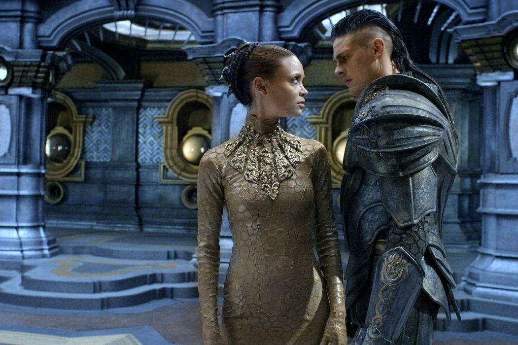 CHRONICLES OF RIDDICK sci-fi warrior movie armor      f wallpaper
