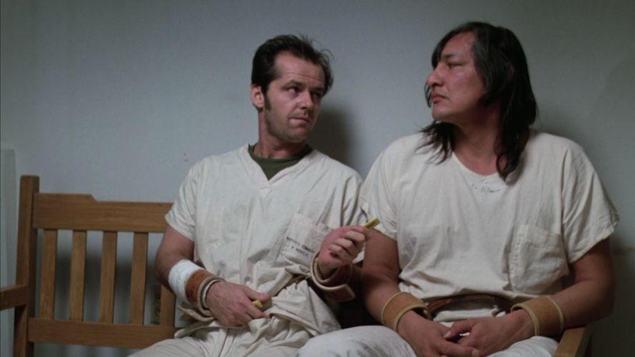ONE FLEW OVER THE CUCKOOS NEST jack nicholson f wallpaper