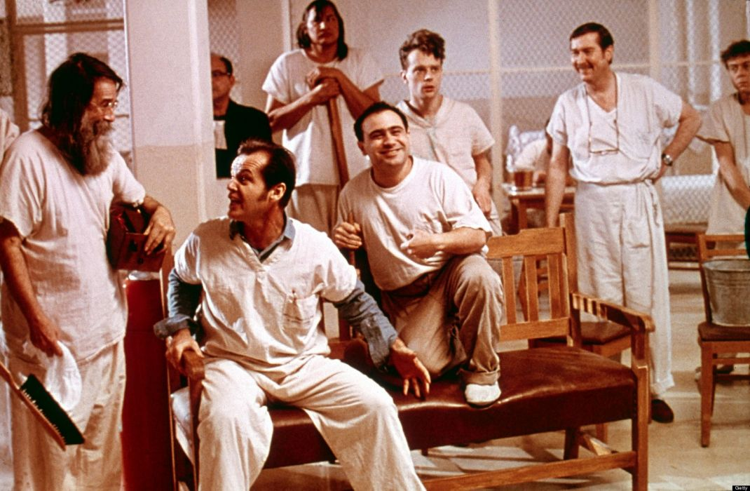 ONE FLEW OVER THE CUCKOOS NEST jack nicholson     h wallpaper