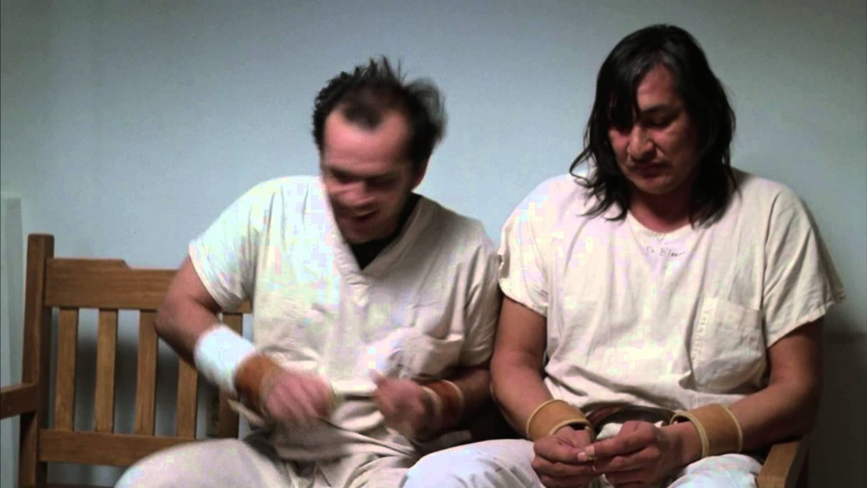 ONE FLEW OVER THE CUCKOOS NEST jack nicholson     ri wallpaper
