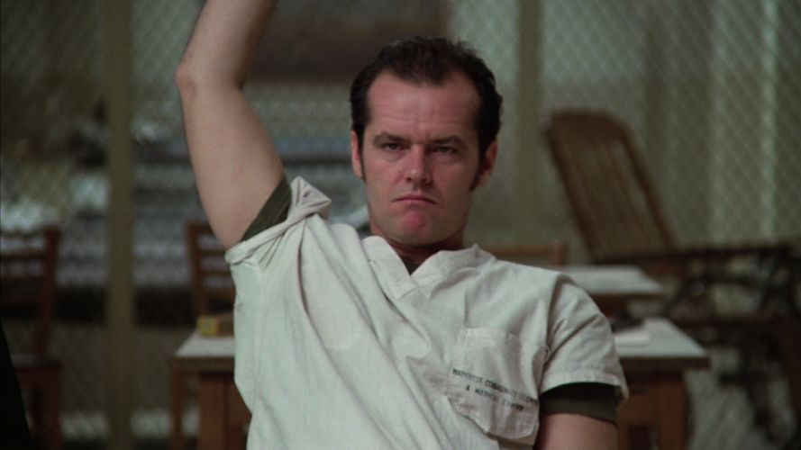 ONE FLEW OVER THE CUCKOOS NEST jack nicholson t wallpaper