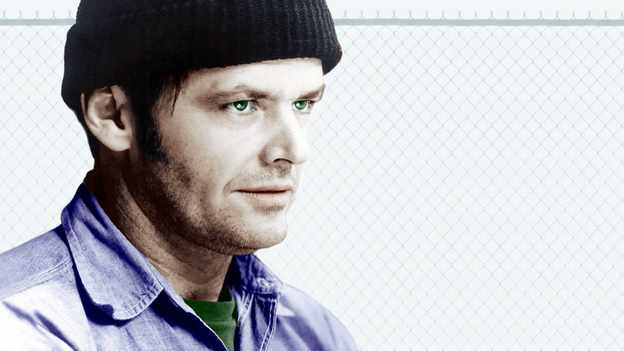 ONE FLEW OVER THE CUCKOOS NEST jack nicholson   d wallpaper