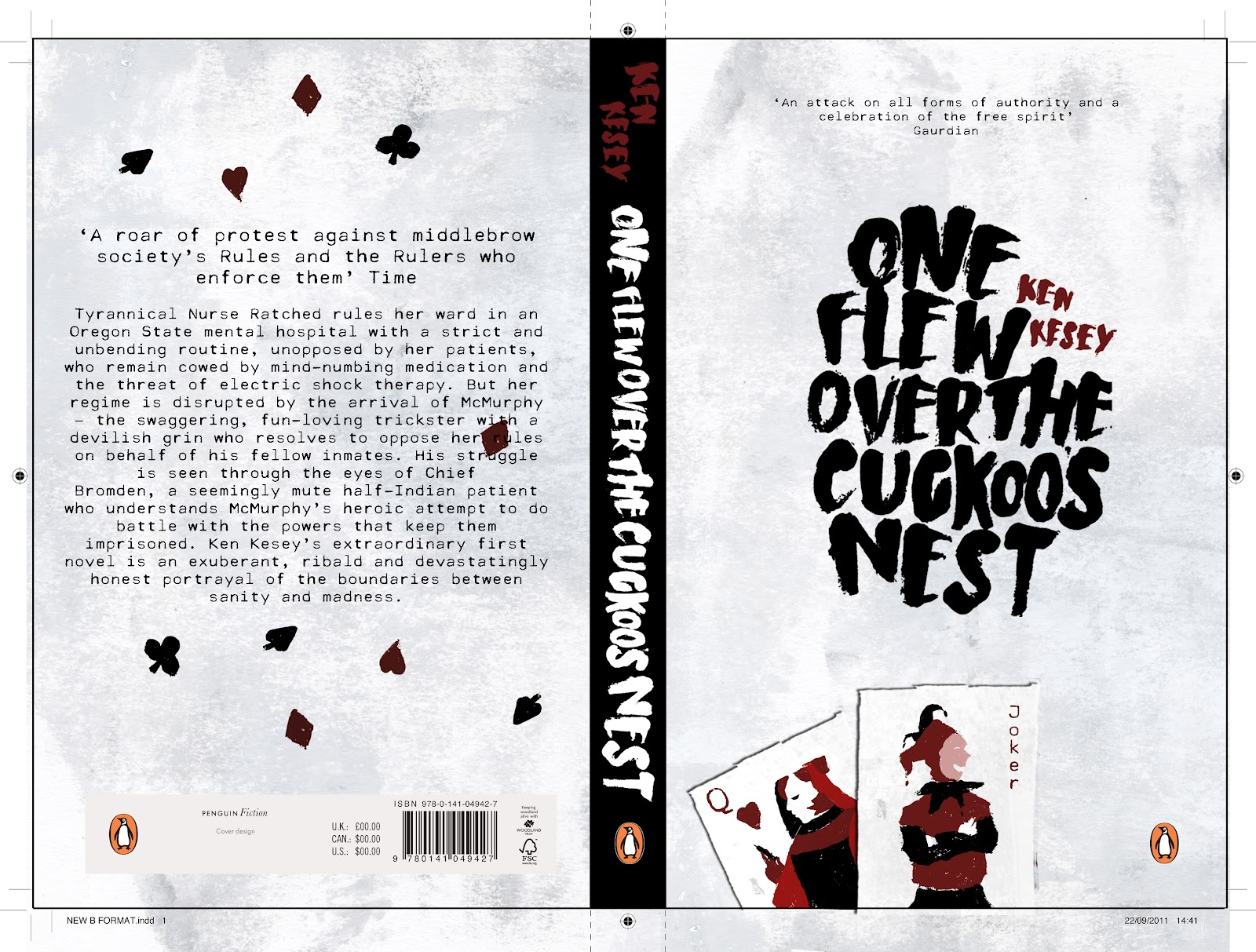 the strong battle between two people in one flew over the cuckoos nest About one flew over the cuckoo's nest prisoner-of-war camp during the korean war mcmurphy is the two presents an interesting contrast between the.