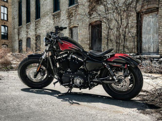 Harley Davidson XL1200X Forty Eight wallpaper