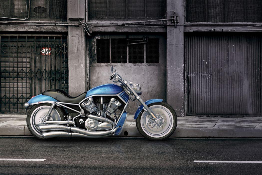 Harley Davidson V-Rod wallpaper