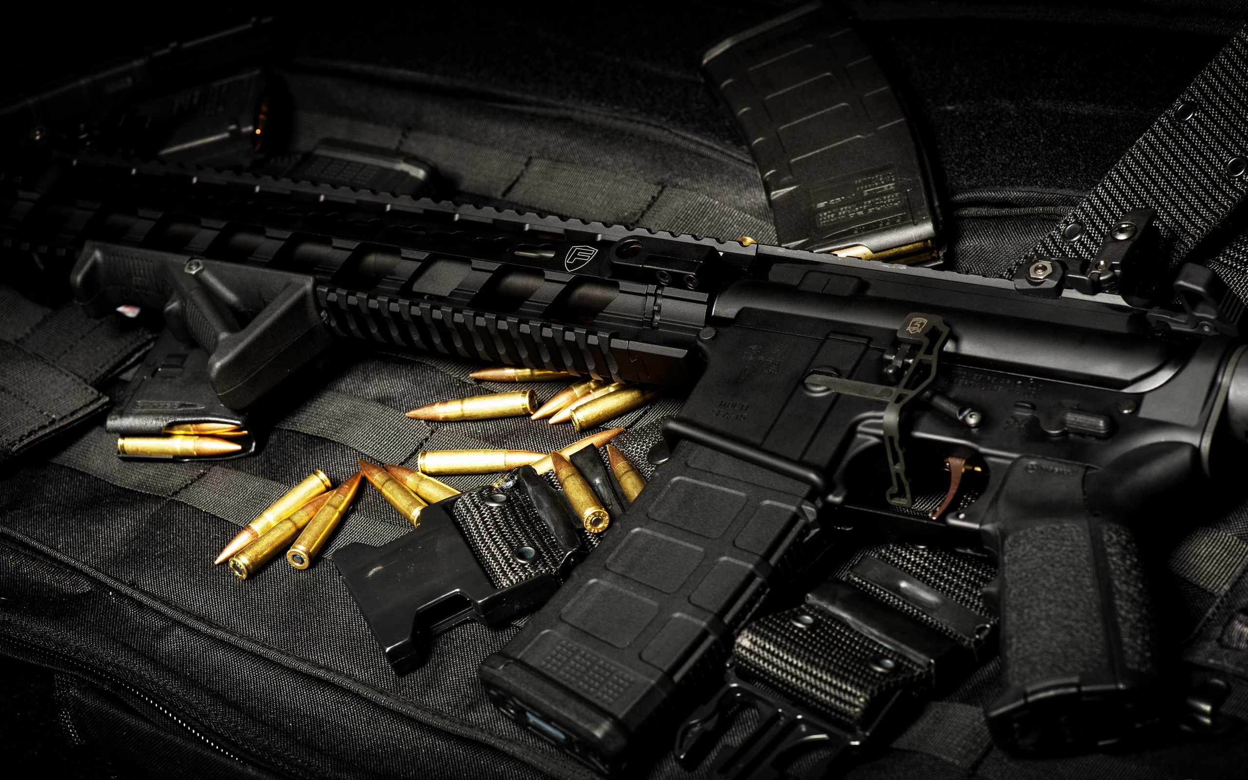Gun Ammo Wallpaper Automatic Weapon Ammo Gun
