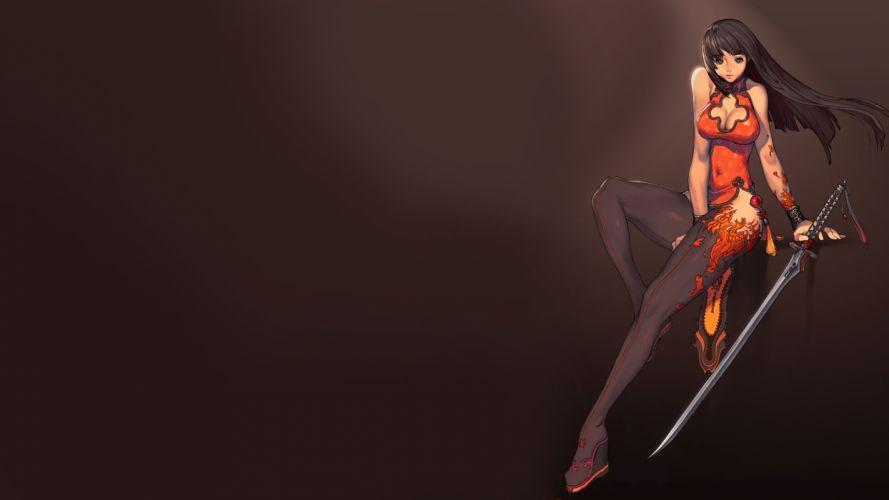 Blade and Soul Anime Sword wallpaper