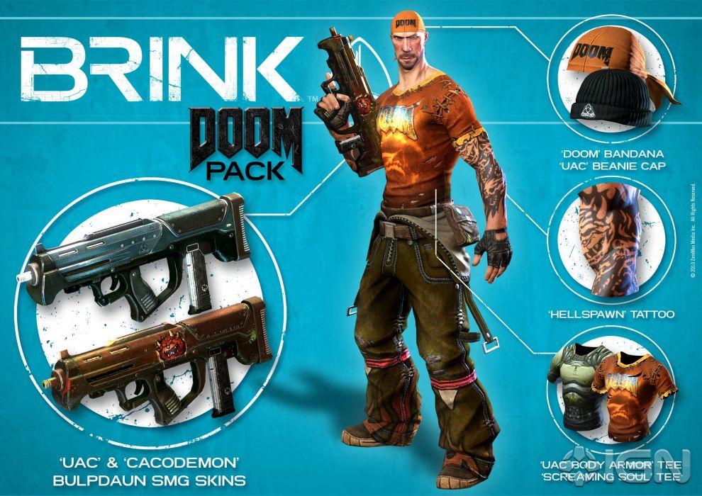 BRINK sci-fi warrior weapon gun   ge wallpaper
