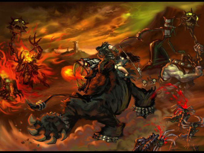 BRUTAL LEGEND game fantasy battle blood monster f wallpaper