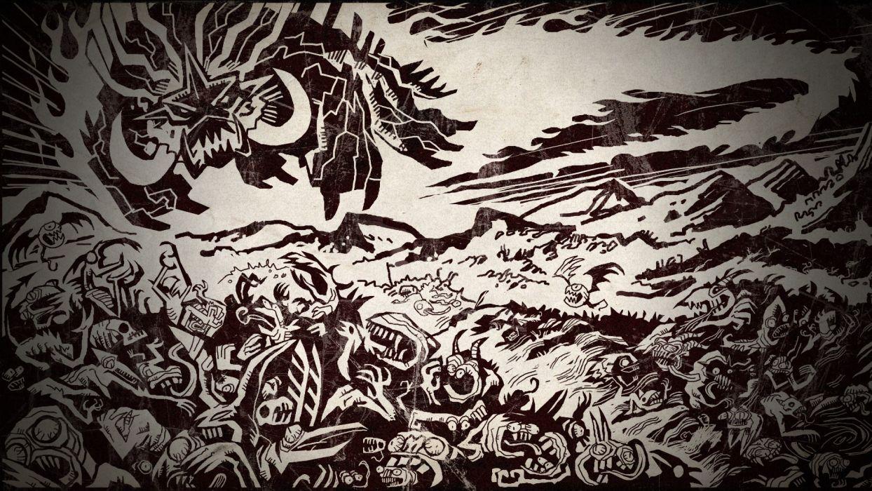 BRUTAL LEGEND game fantasy monster     f wallpaper