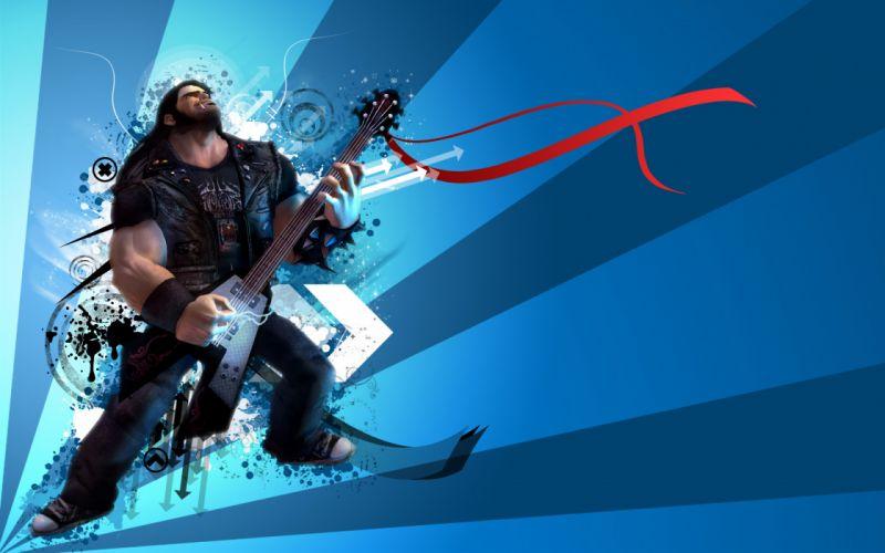 BRUTAL LEGEND game fantasy music guitar y wallpaper