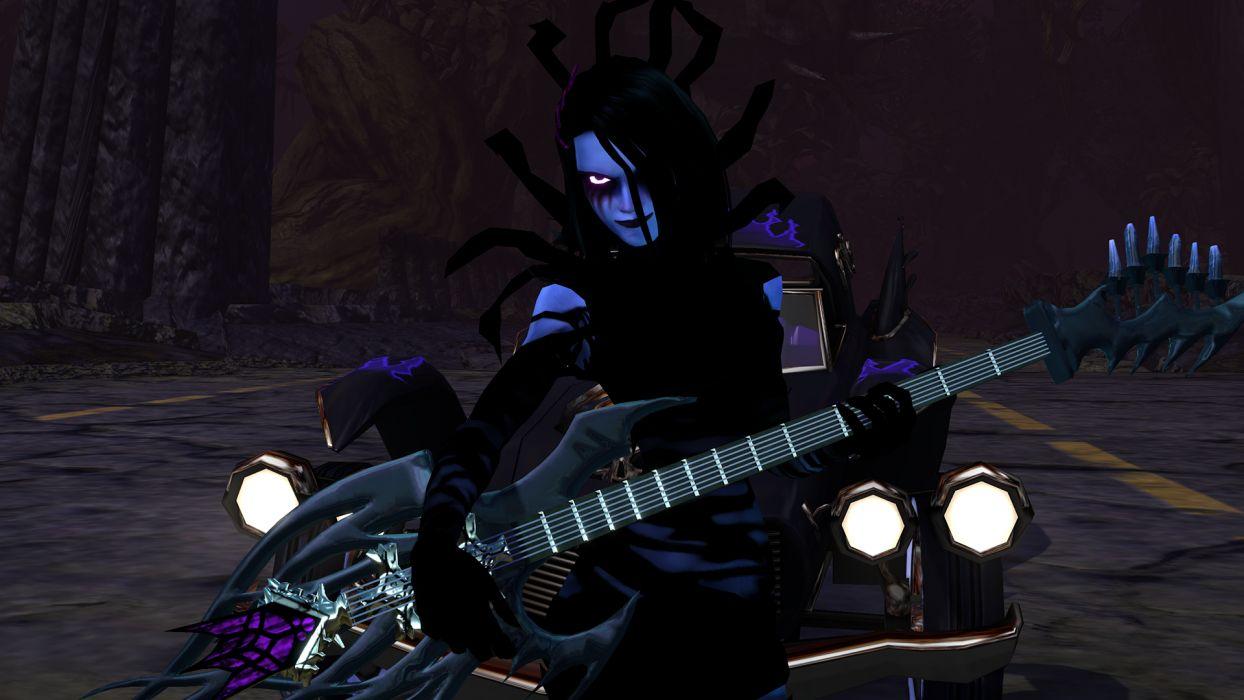 BRUTAL LEGEND game fantasy music guitar dark      h wallpaper
