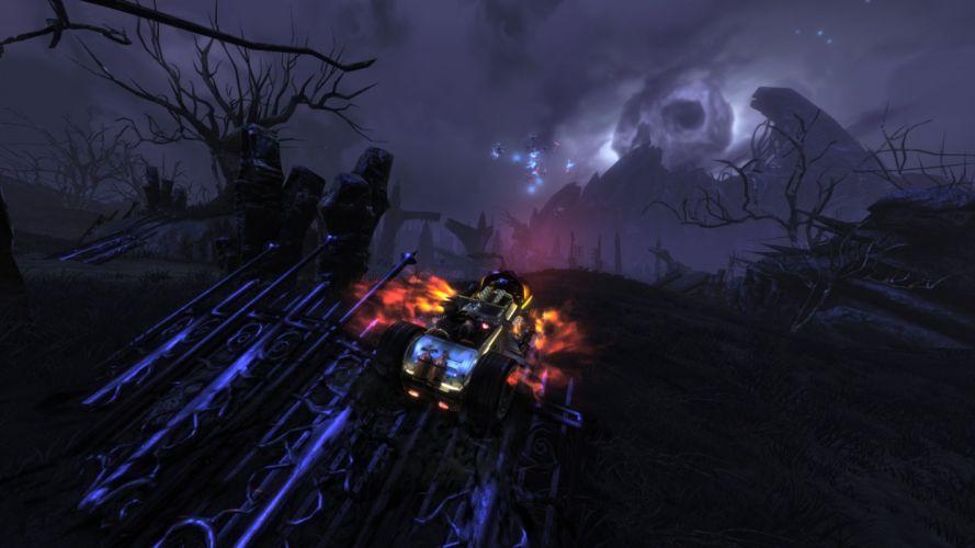 BRUTAL LEGEND game fantasy sci-fi landscape f wallpaper