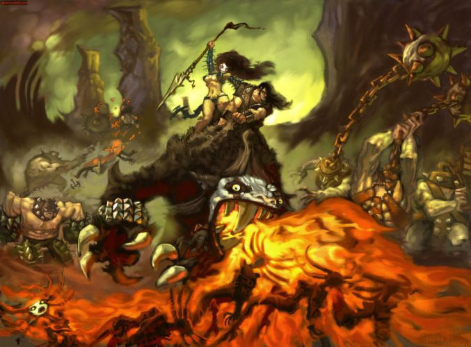 BRUTAL LEGEND game fantasy warrior h wallpaper