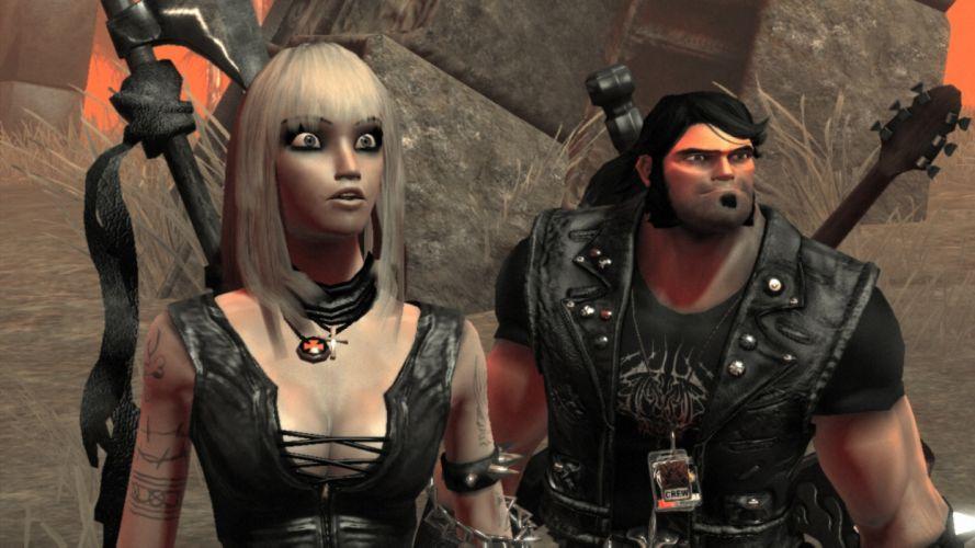 BRUTAL LEGEND game fantasy warrior g wallpaper