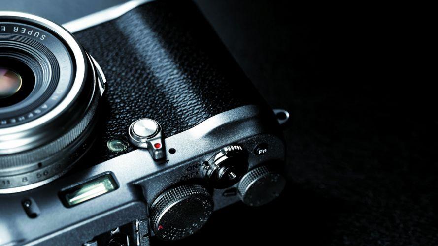 camera lens fujifilm X100s wallpaper