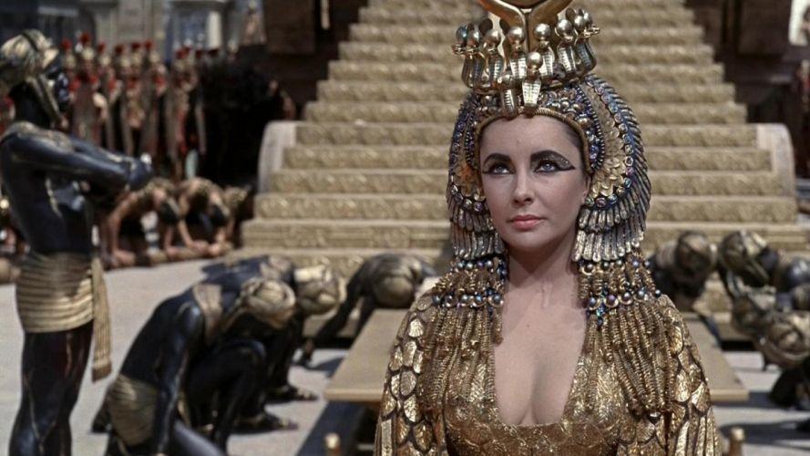 CLEOPATRA Elizabeth Taylor drama history egypt g wallpaper