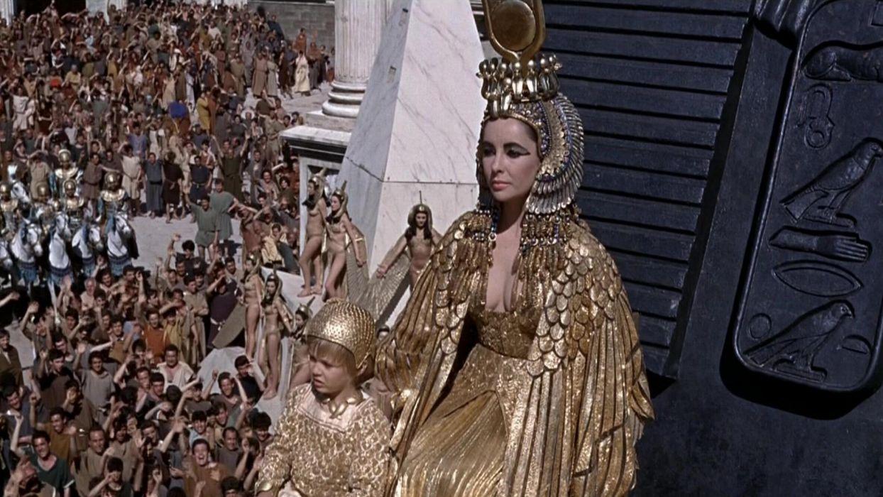 CLEOPATRA Elizabeth Taylor drama history egypt fantasy   r wallpaper